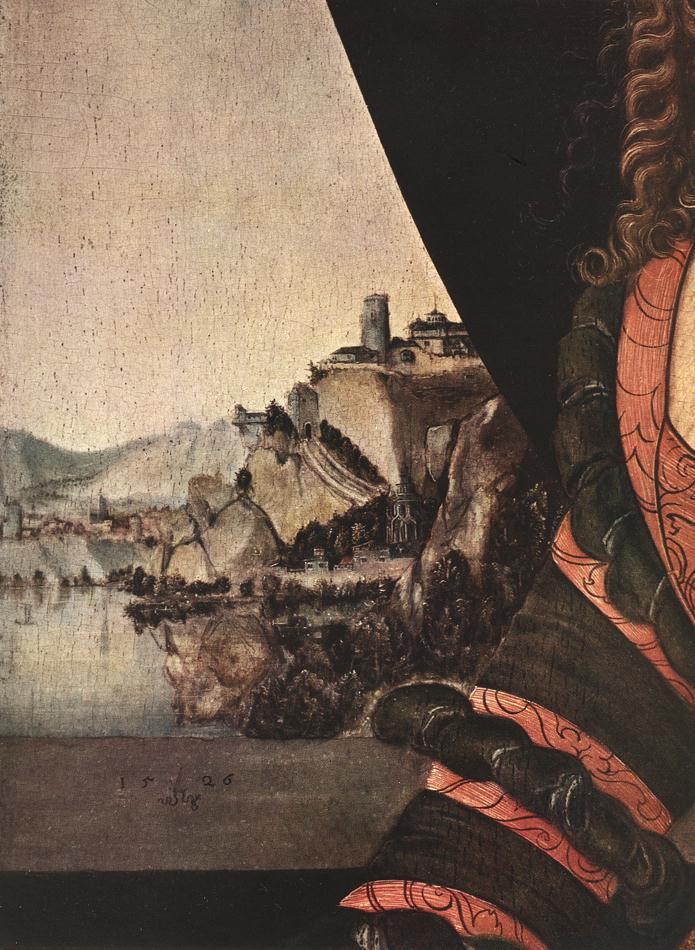 Лукас Кранах Старший. Портрет женщины. Фрагмент