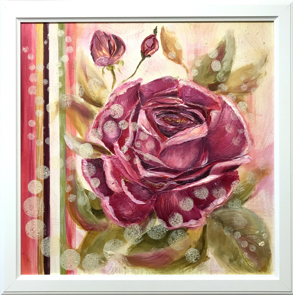 Svetlana Ivanova. Rose flower