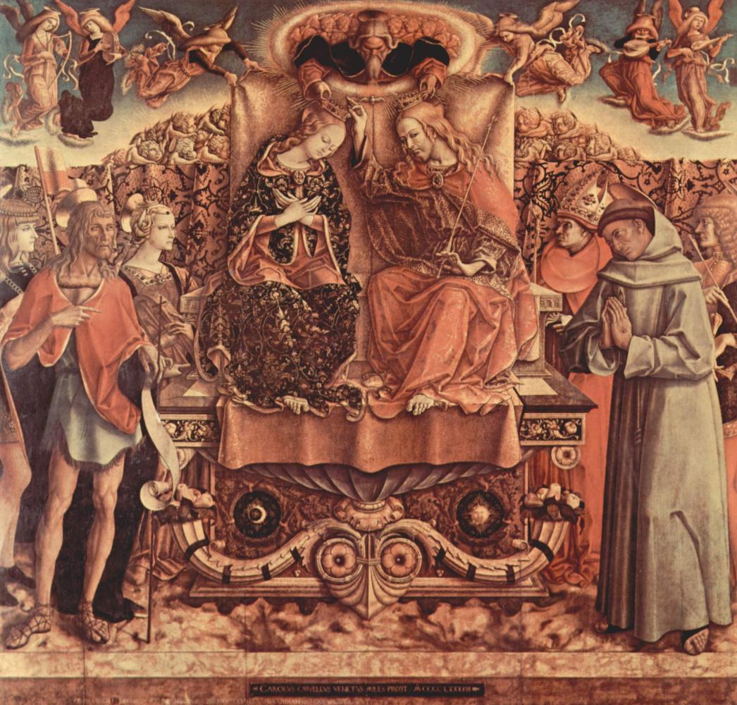 Карло Кривелли. Коронование Марии