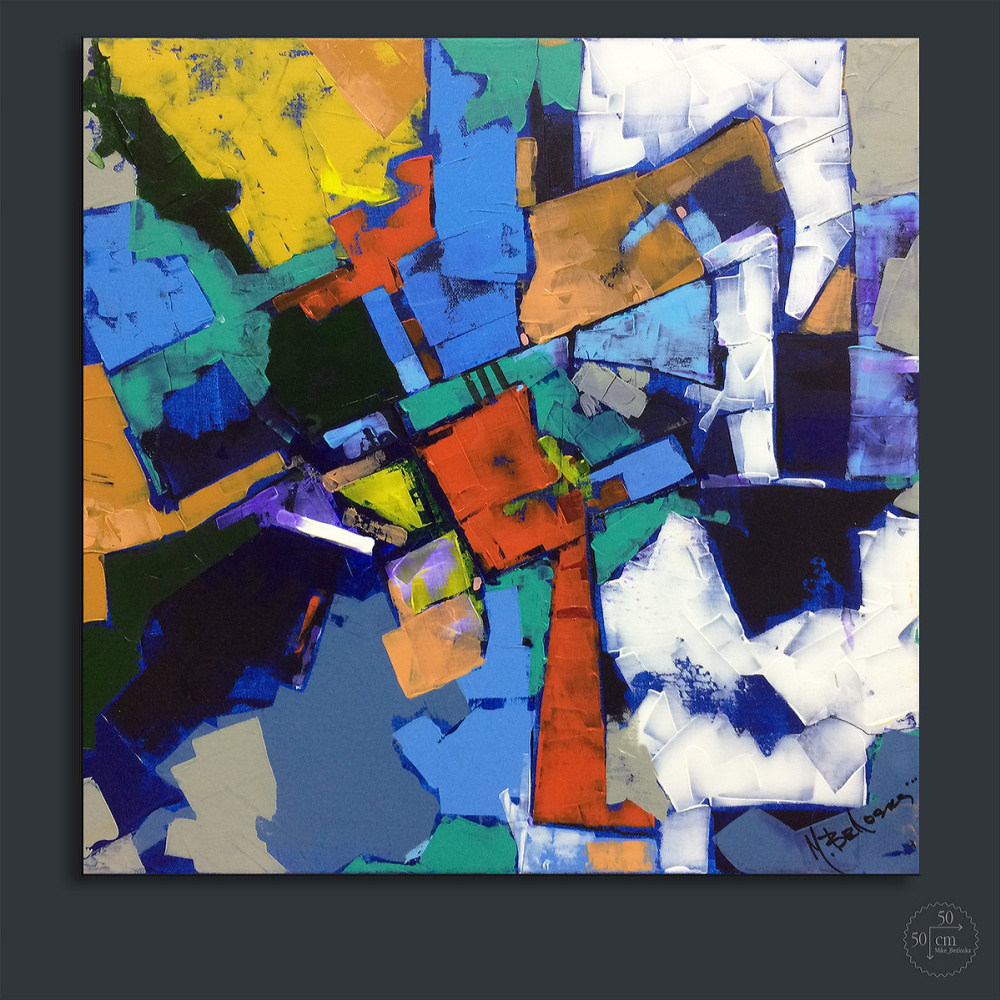 Mike Bezloska. Abstraction number 140