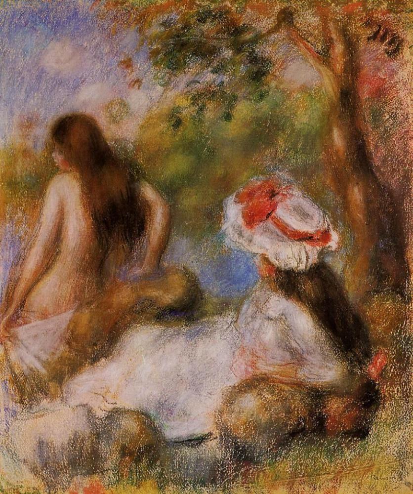 Pierre-Auguste Renoir. Bathers