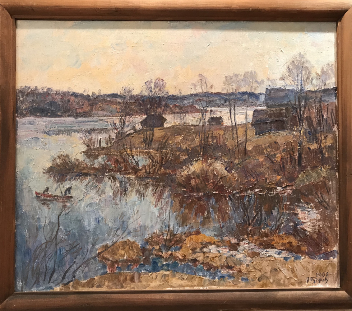 Andrey Andreevich Tutunov. Lake in spring