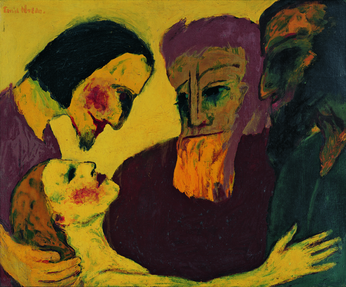 Emil Nolde. Christ and the Sinner
