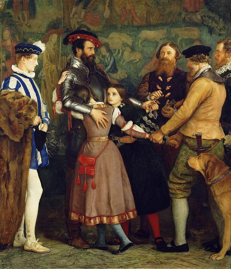 John Everett Millais. The ransom