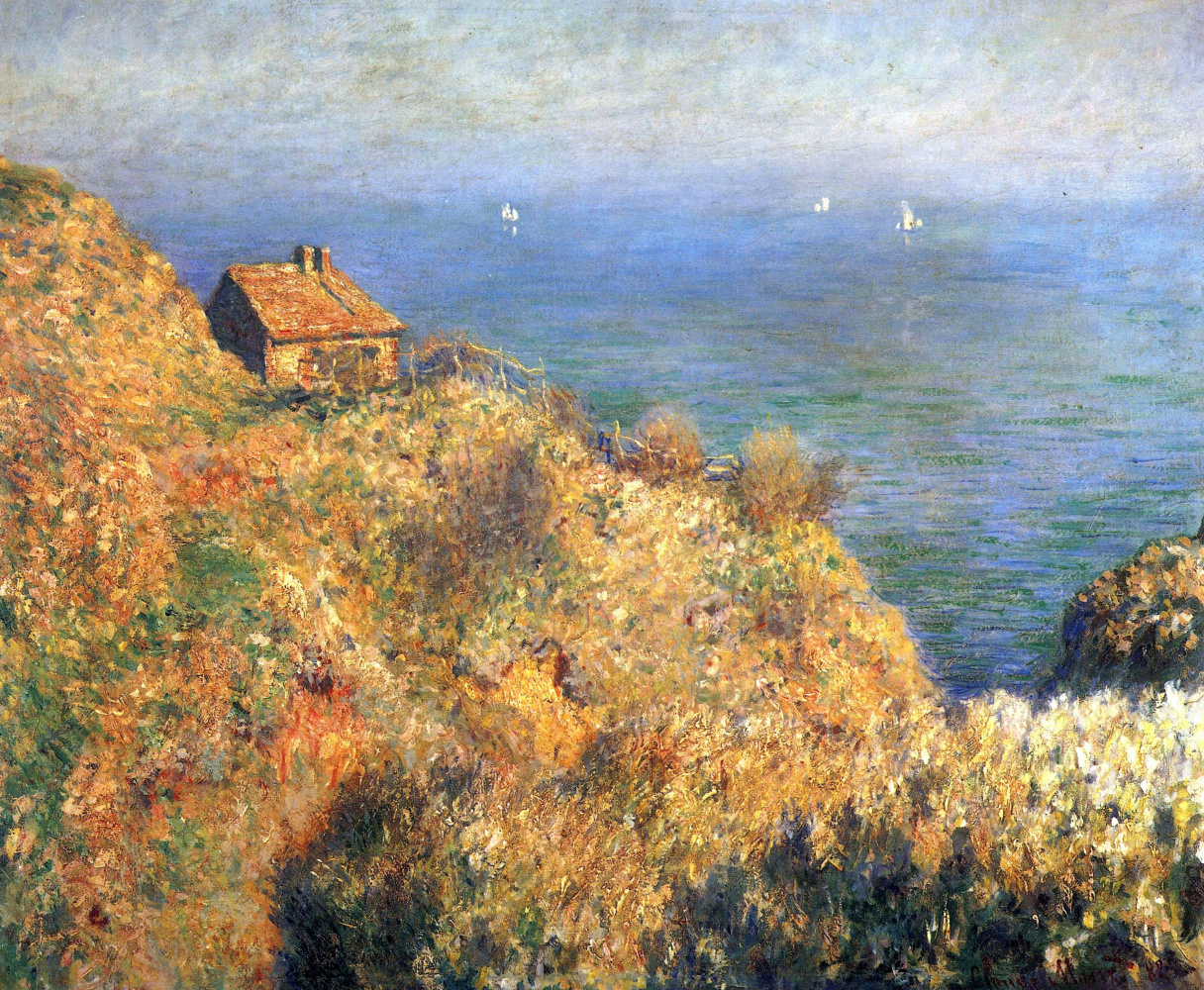 Claude Monet. Fisherman's cottage in Varanzhvile