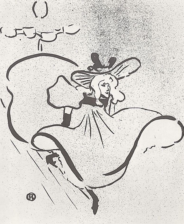 Henri de Toulouse-Lautrec. Jane Avril