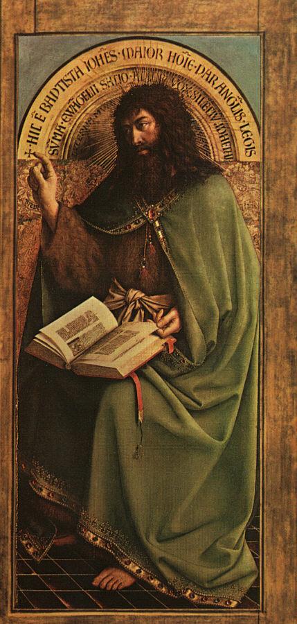 Хуберт ван Эйк. Святой