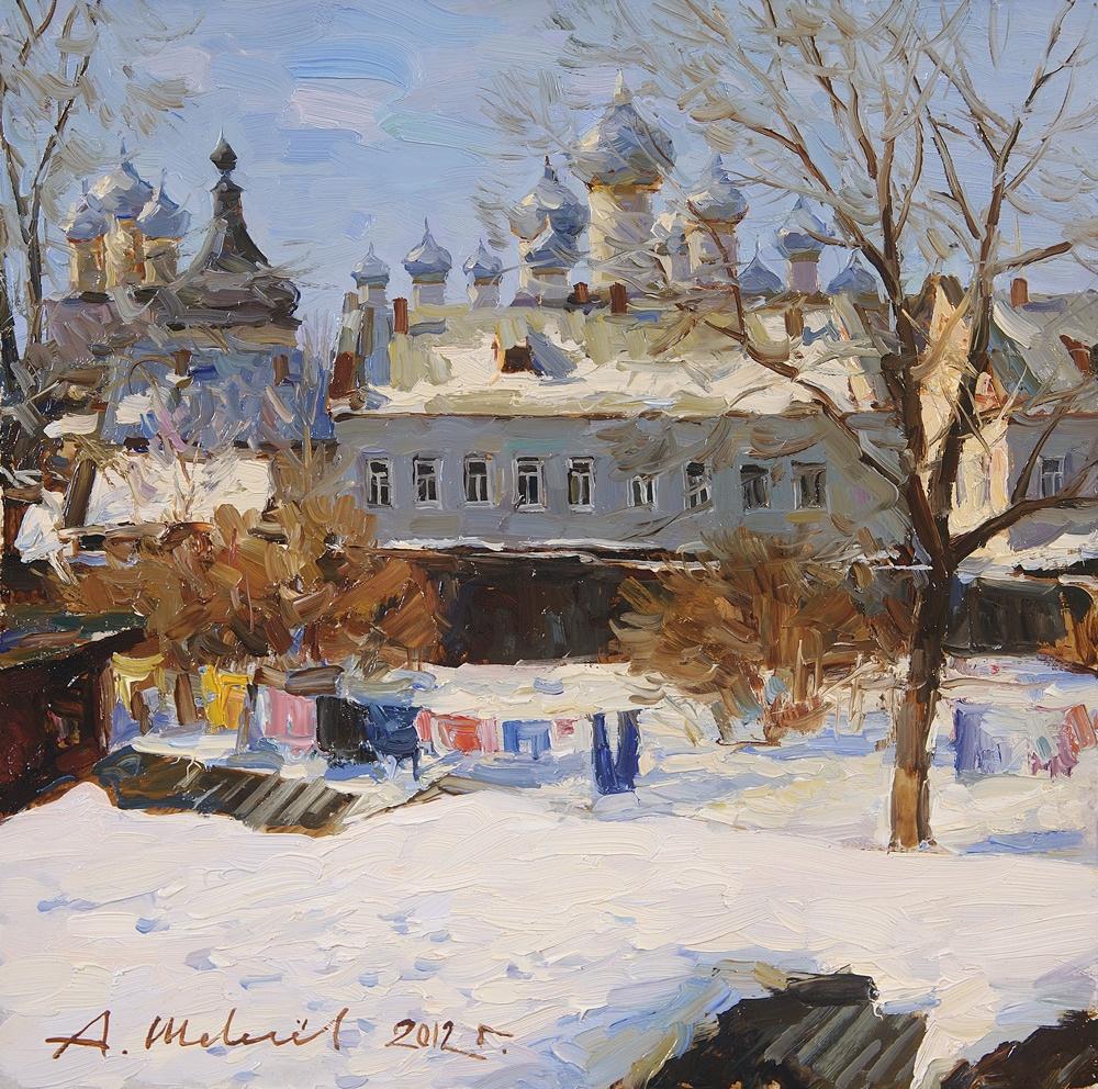 Alexander Victorovich Shevelyov. In Rostov The Great