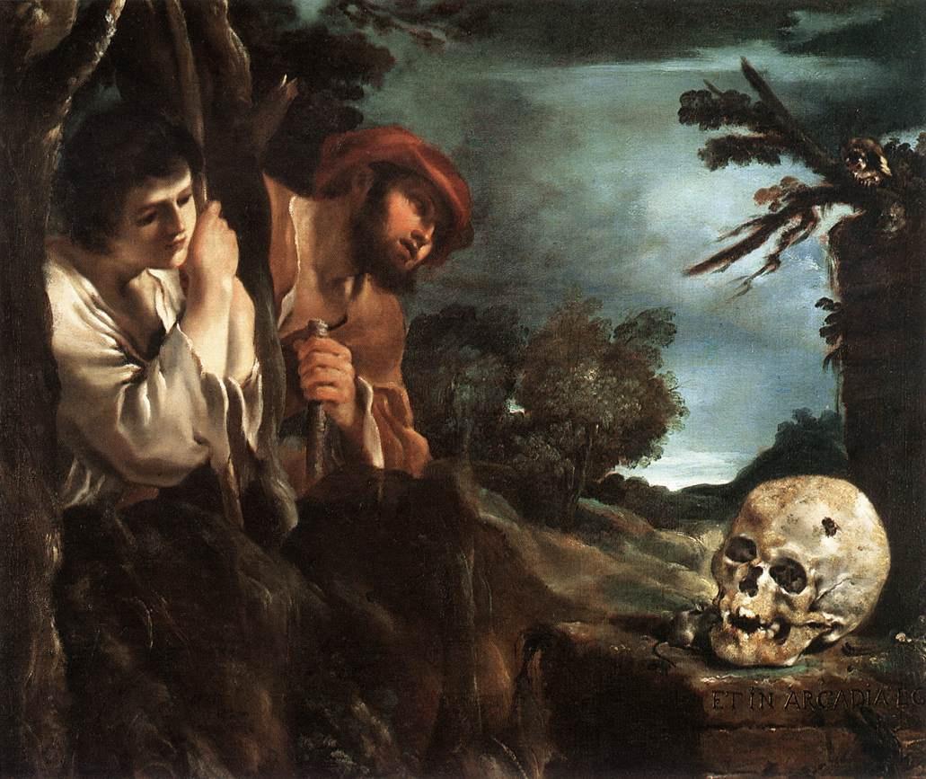 Giovanni Francesco Guercino. Et in Arcadia ego