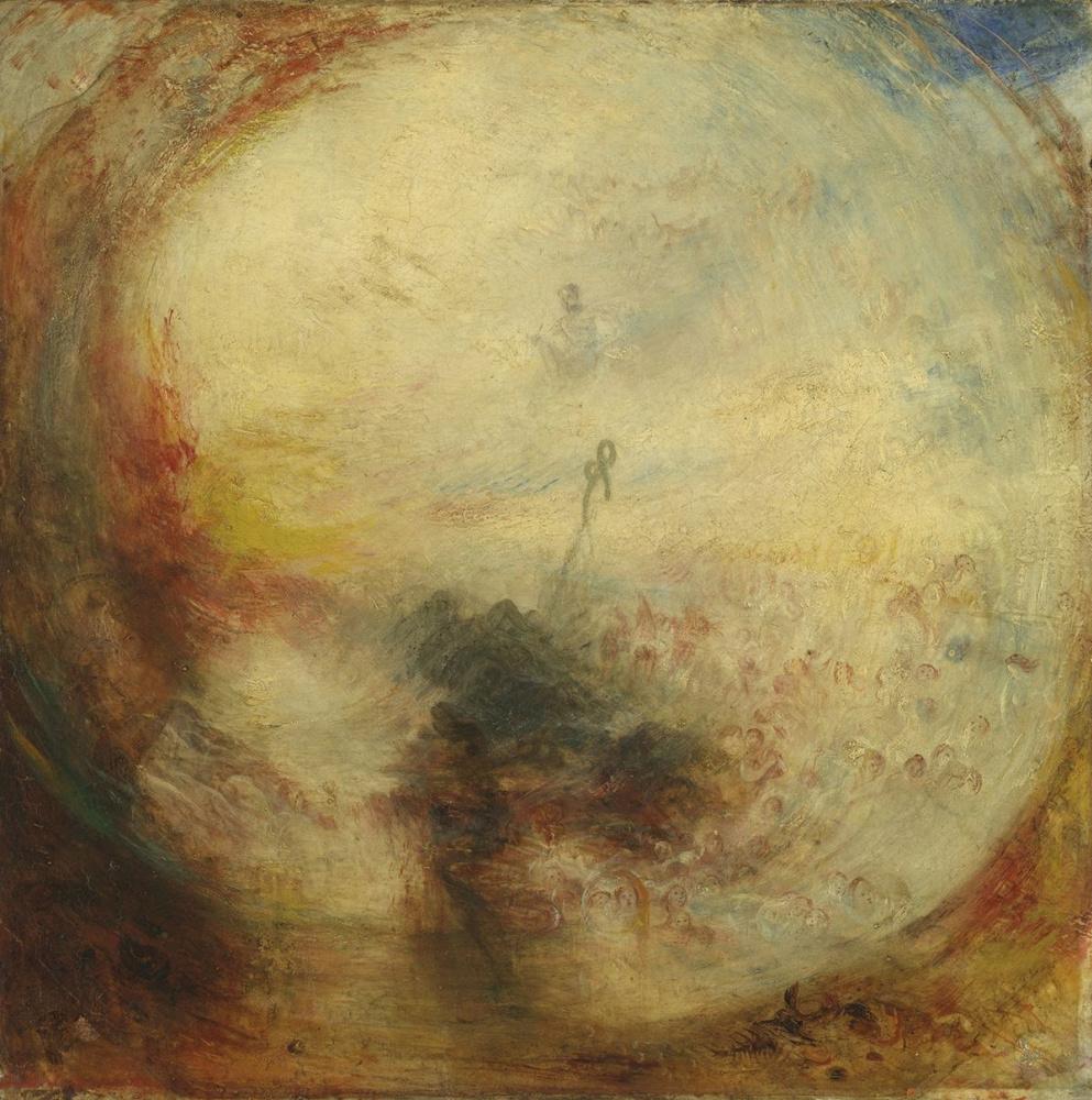 Джозеф Мэллорд Уильям Тёрнер. Свет и цвет (теория Гёте). Утро после потопа. Моисей пишет Книгу Бытия