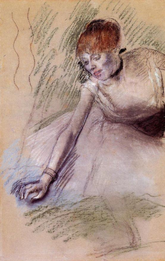 Эдгар Дега. Поклон балерины
