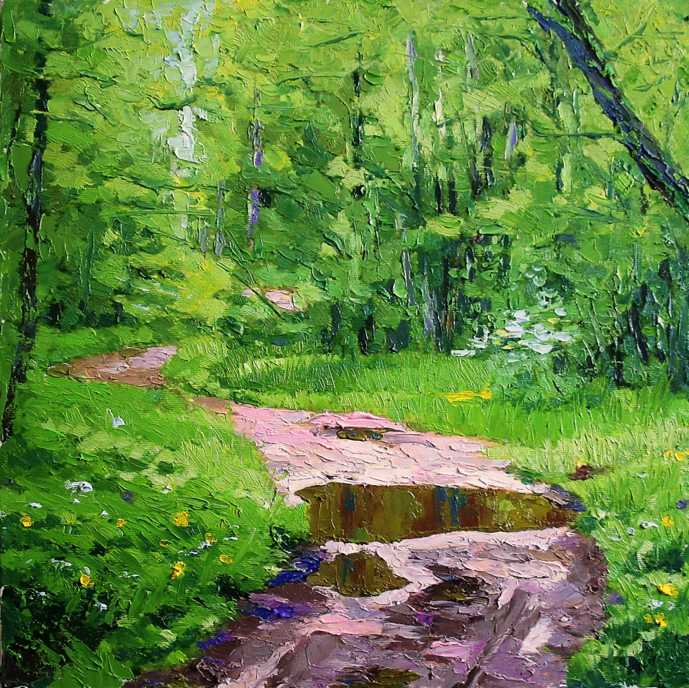 Михаил Рудник. Forest road