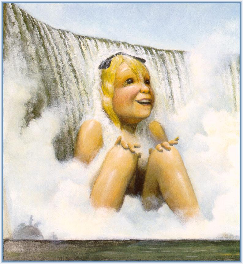 David Shannon. Waterfall