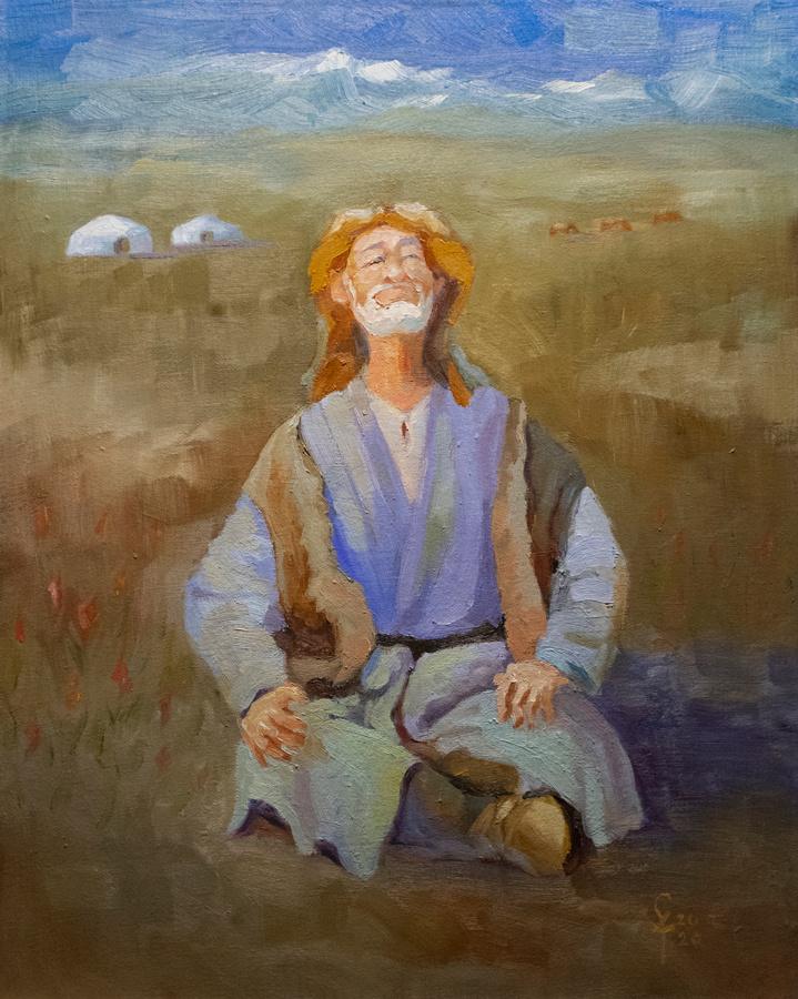 Konstantin Vyacheslavovich Starooskolsky. Spring in the steppe