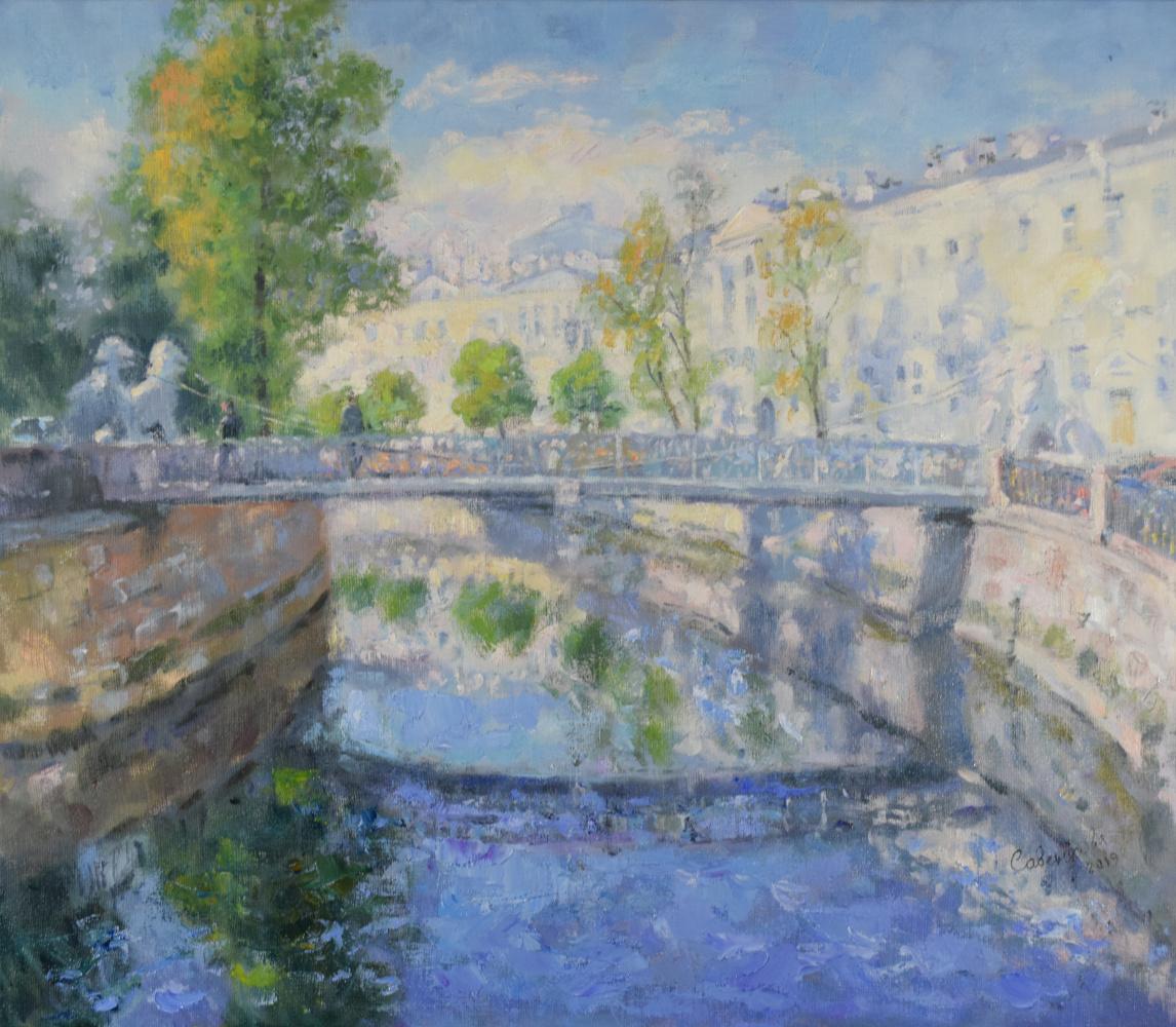 Natalya Savenkova. Lion bridge
