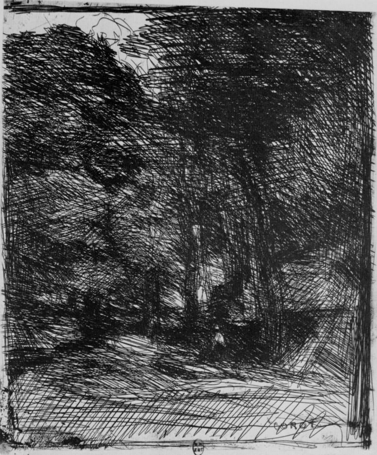 Camille Corot. Remembering Ba-Breo