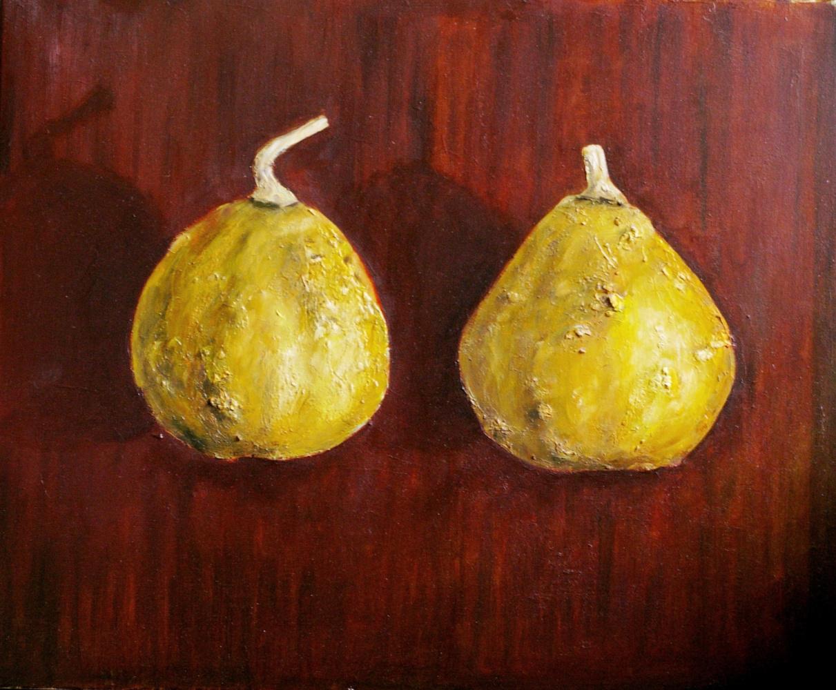 Natalia Bagatskaya. Two pumpkins