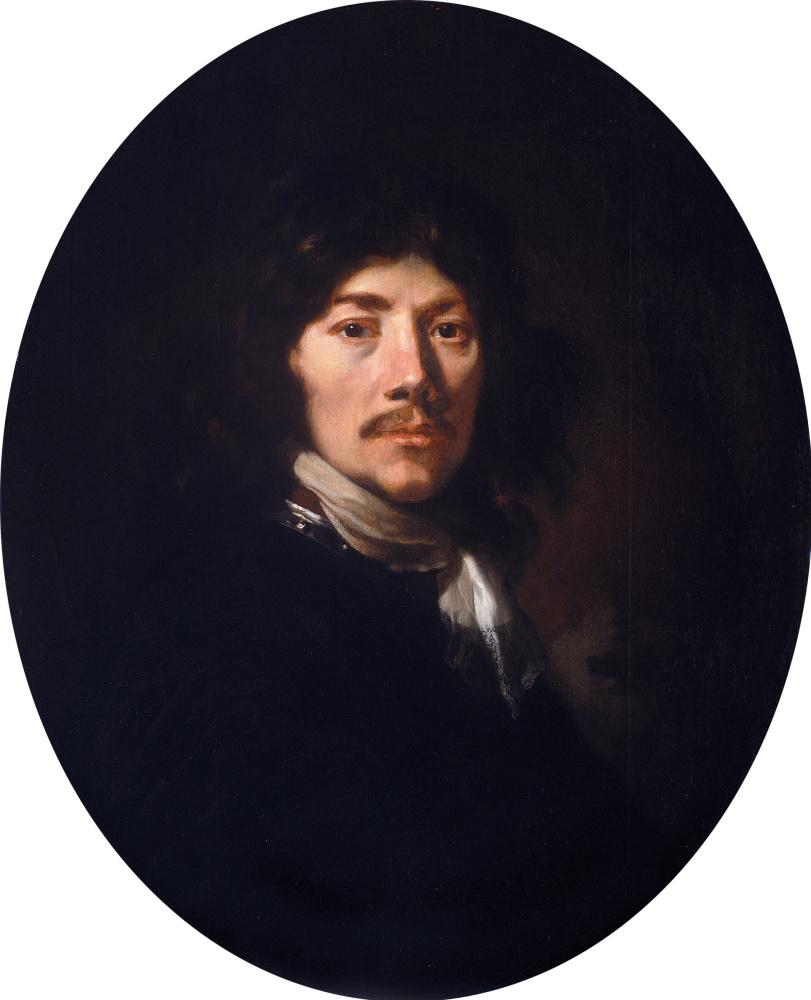 Jakob van Loo. Self-portrait