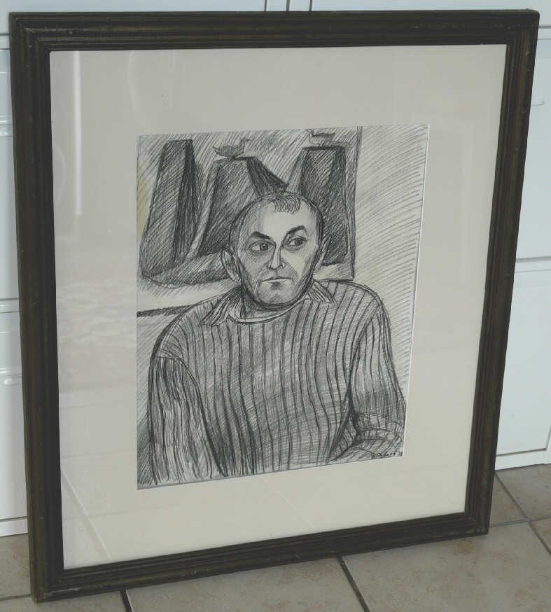 "Vitaliy Timofeevich Davydov. ""The painter I. Tabenkin"""