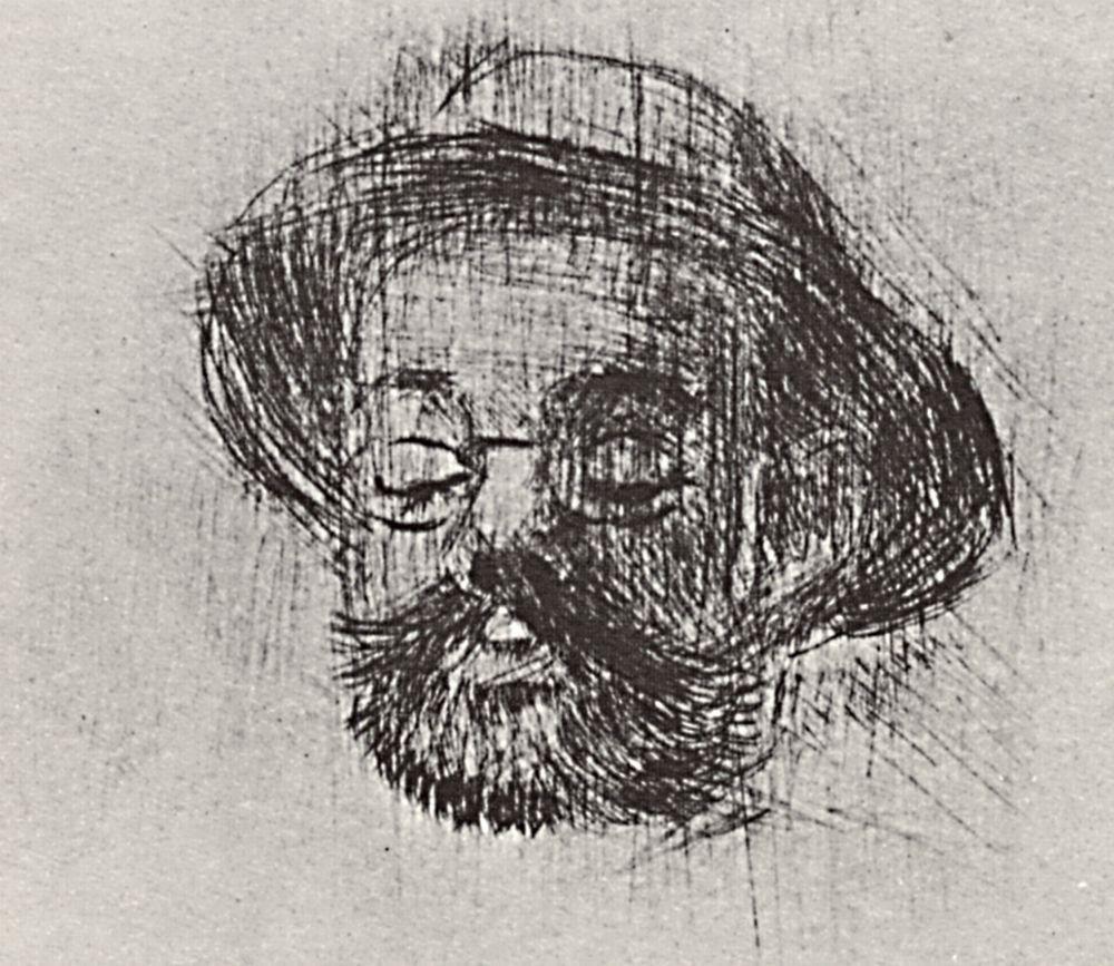 Анри де Тулуз-Лотрек. Портрет Анри Сомма
