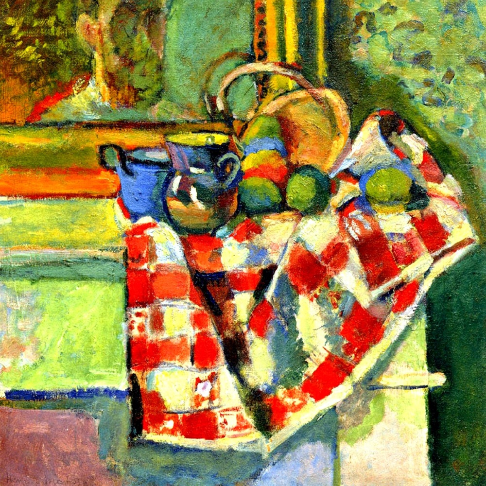 Henri Matisse. Still Life with a Checked Tablecloth