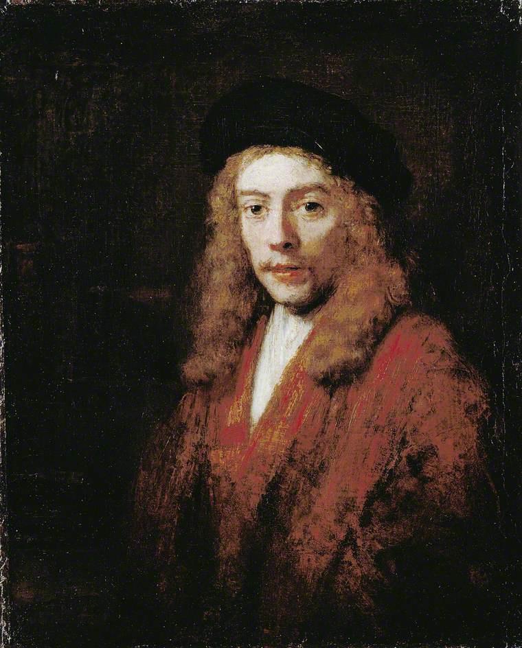 Рембрандт Харменс ван Рейн. Портрет молодого человека (возможно, Титуса, сына художника)