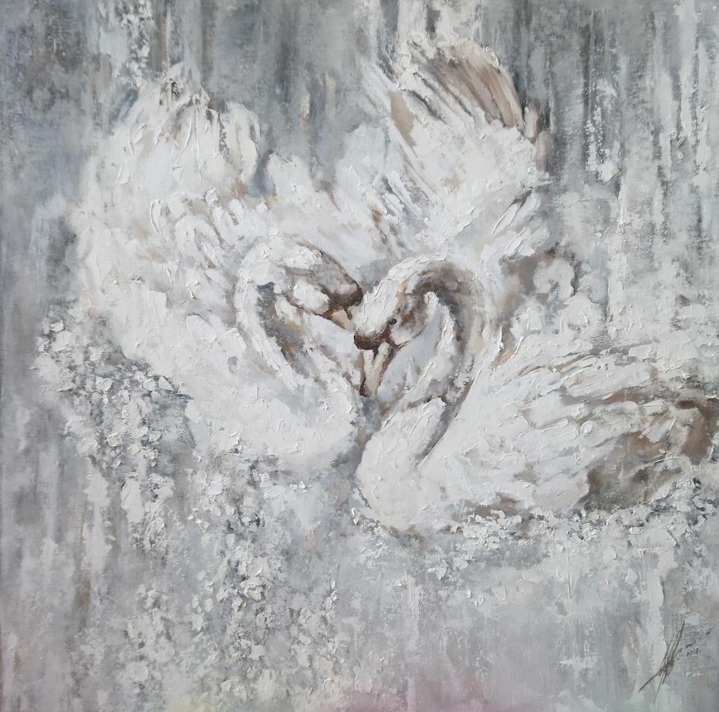 Ольга Шацкая. Лебеди