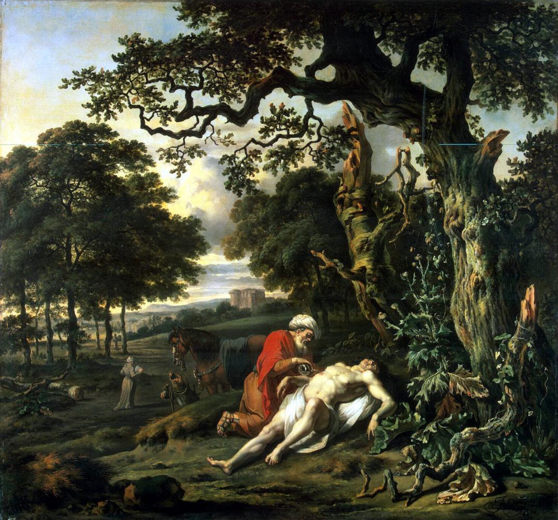 Ян Вейнантс. Милосердие самарянина