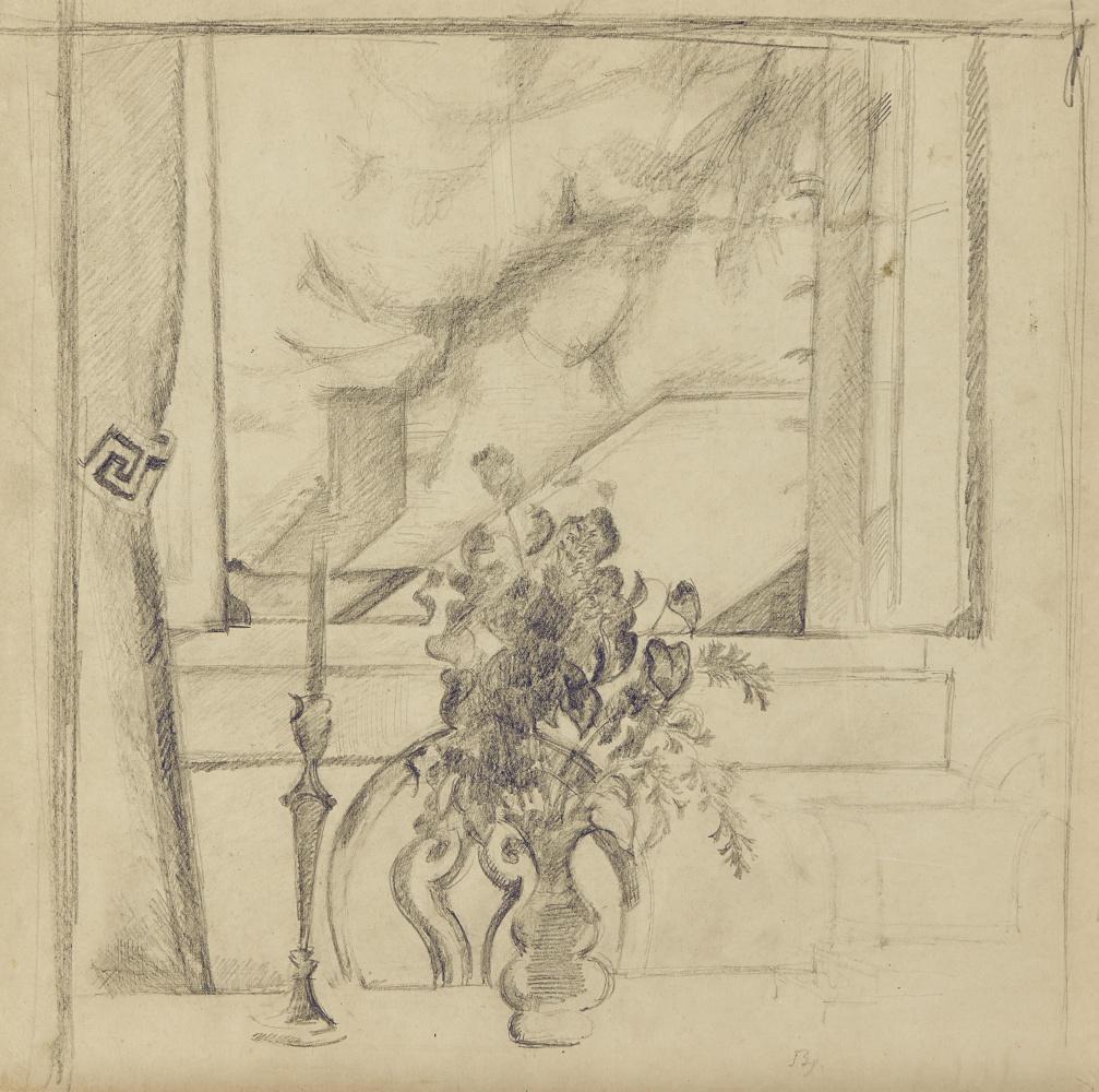 Balthus (Balthasar Klossovsky de Rola). Still life