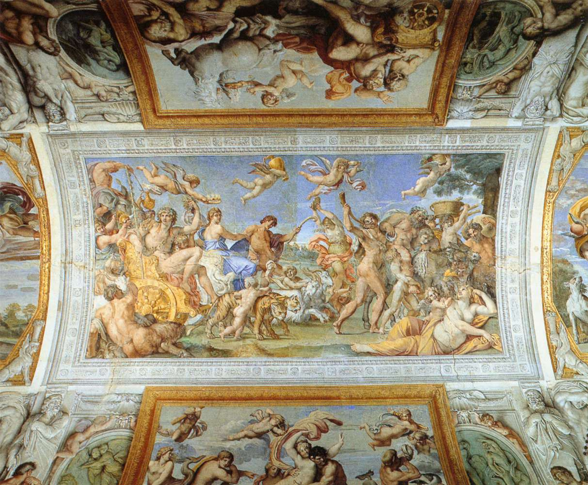 Annibale Carracci. The Triumph of Bacchus and Ariadne