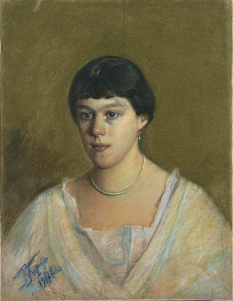Kiriak Konstantinovich Kostandi. Portrait of a Woman
