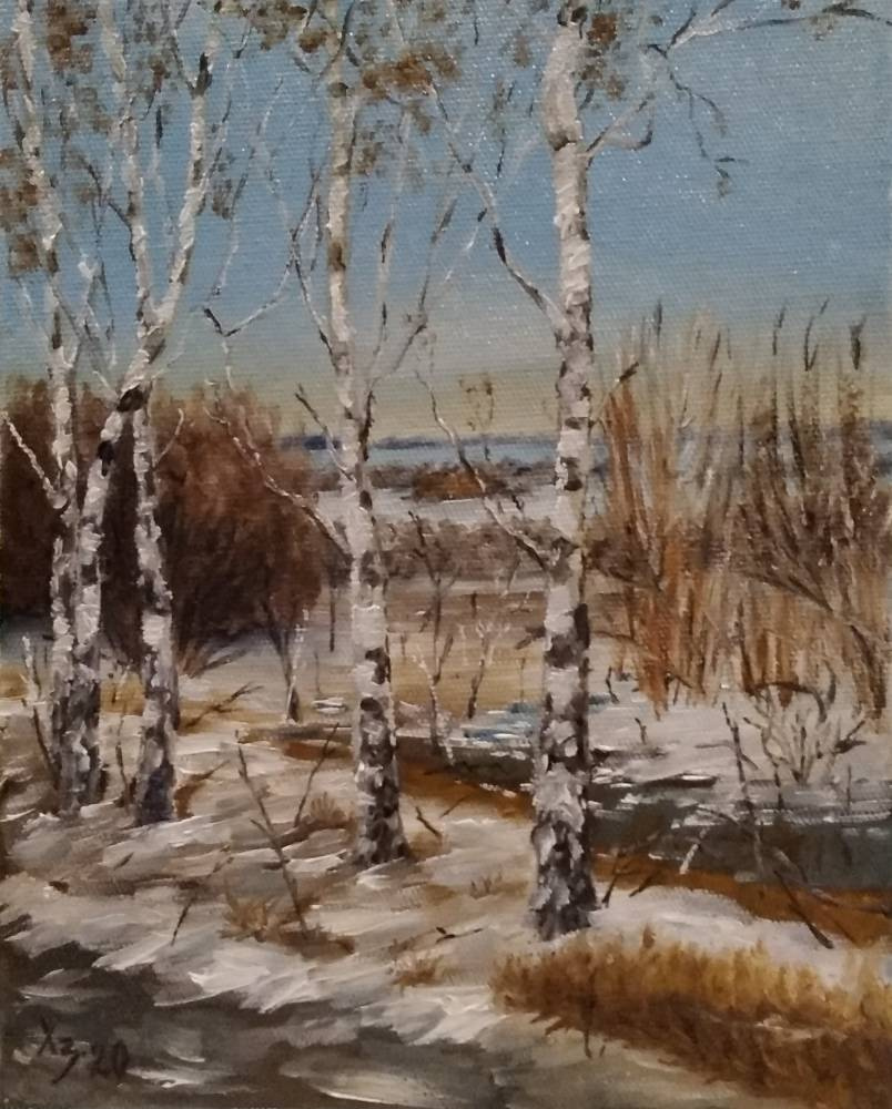 Sergei Nikolayevich Khodorenko-Zatonsky. Early spring