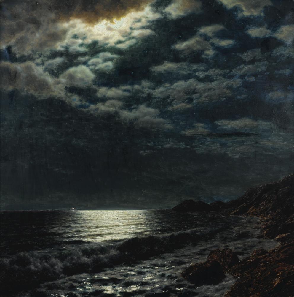 Ivan Choultsé. Sea moon night