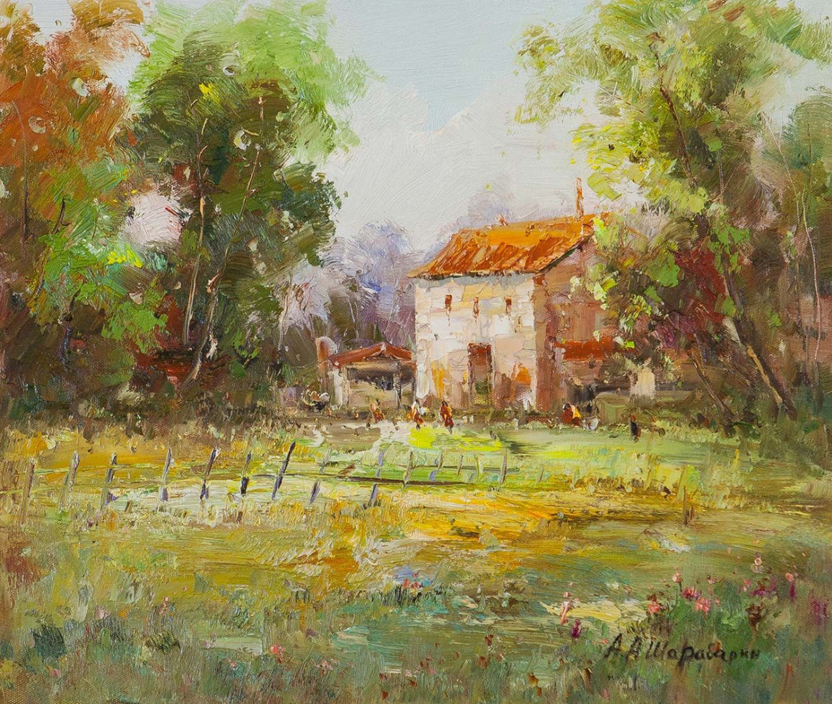 Andrey Sharabarin. A little pastoral. The AS version. Etude of the second
