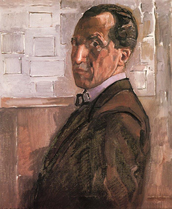 Piet Mondrian. Self-portrait
