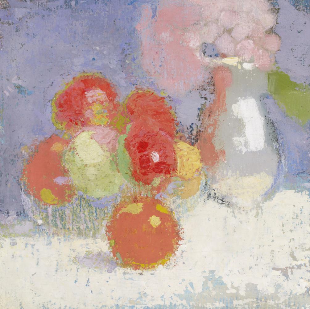 Helena Sophia Scherfbek. Red apples