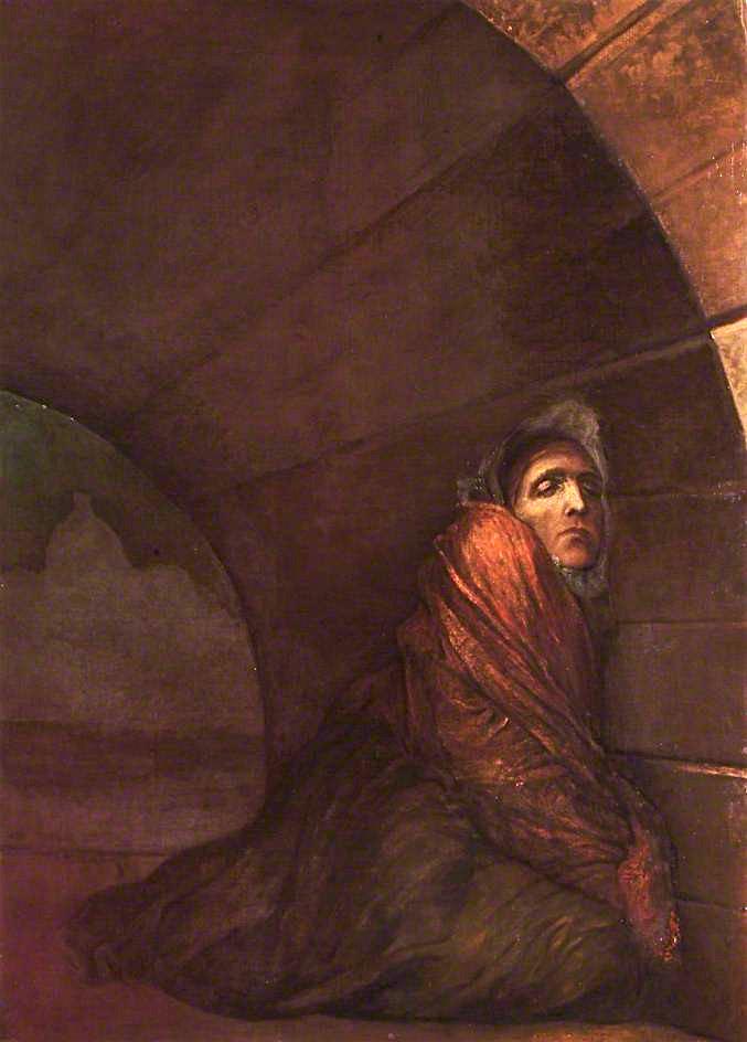 George Frederick Watts. Under the bridge