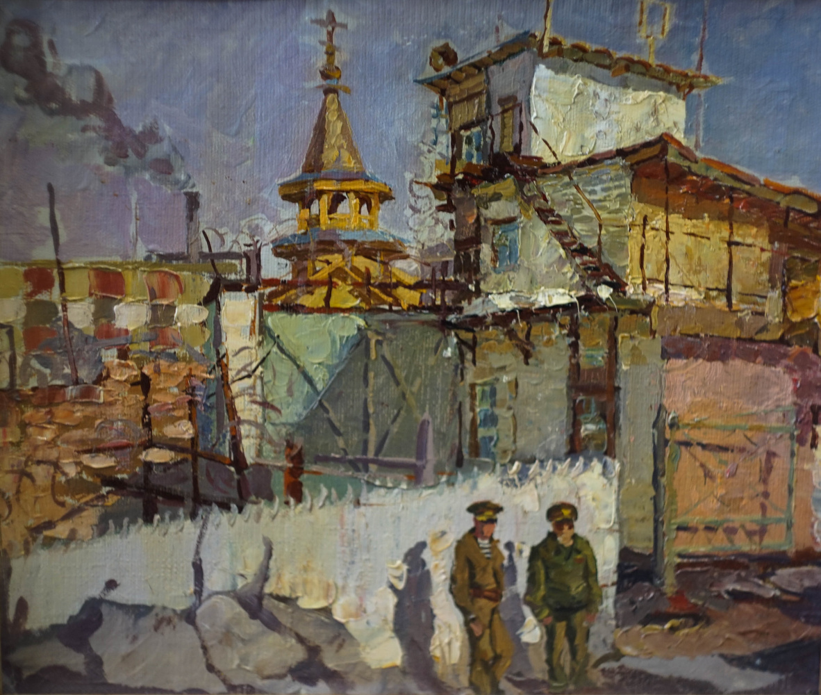 Alexey Alekseevich Drilev. Church in the colony