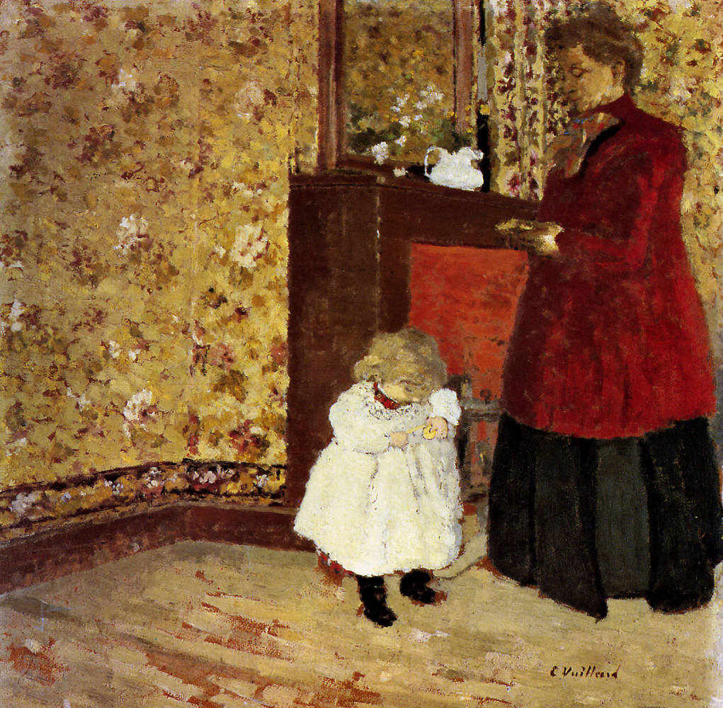 Жан Эдуар Вюйар. Мать и дитя