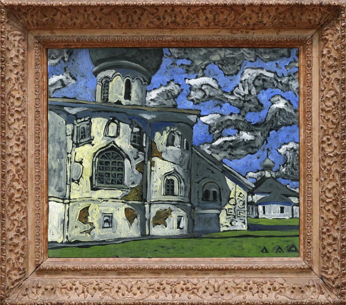 """Dmitry Anatolyevich Drozdetsky. """"Trinity Cathedral of the Alexander-Svirsky Monastery"""""""