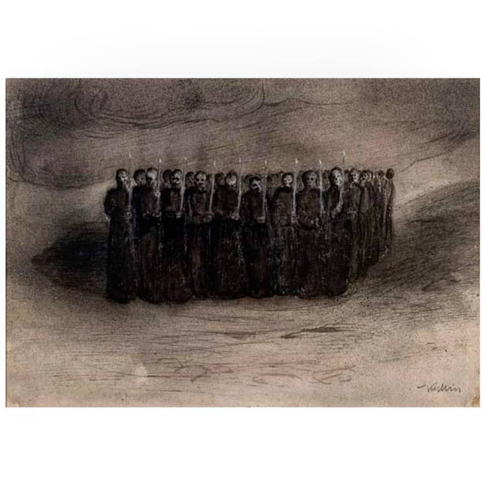 Alfred Cubin. Black mass