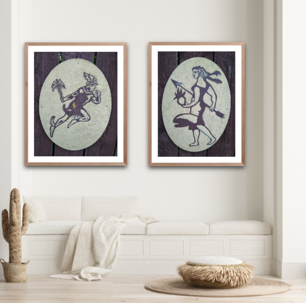 Natalya Garber. Mercury and Venus. A couple of works for the center for family and sexual development :)