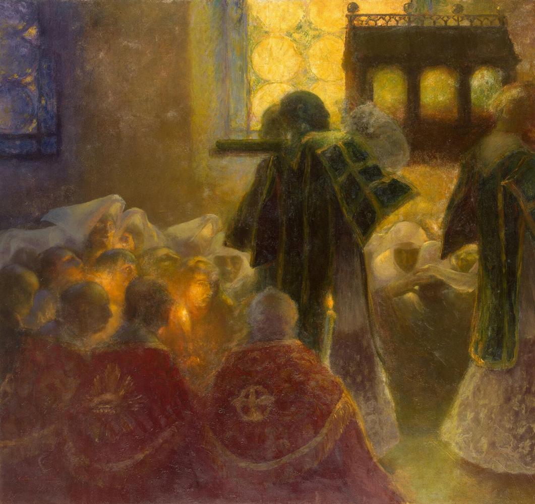 Гастон Ла Туш. Перенесение святыни