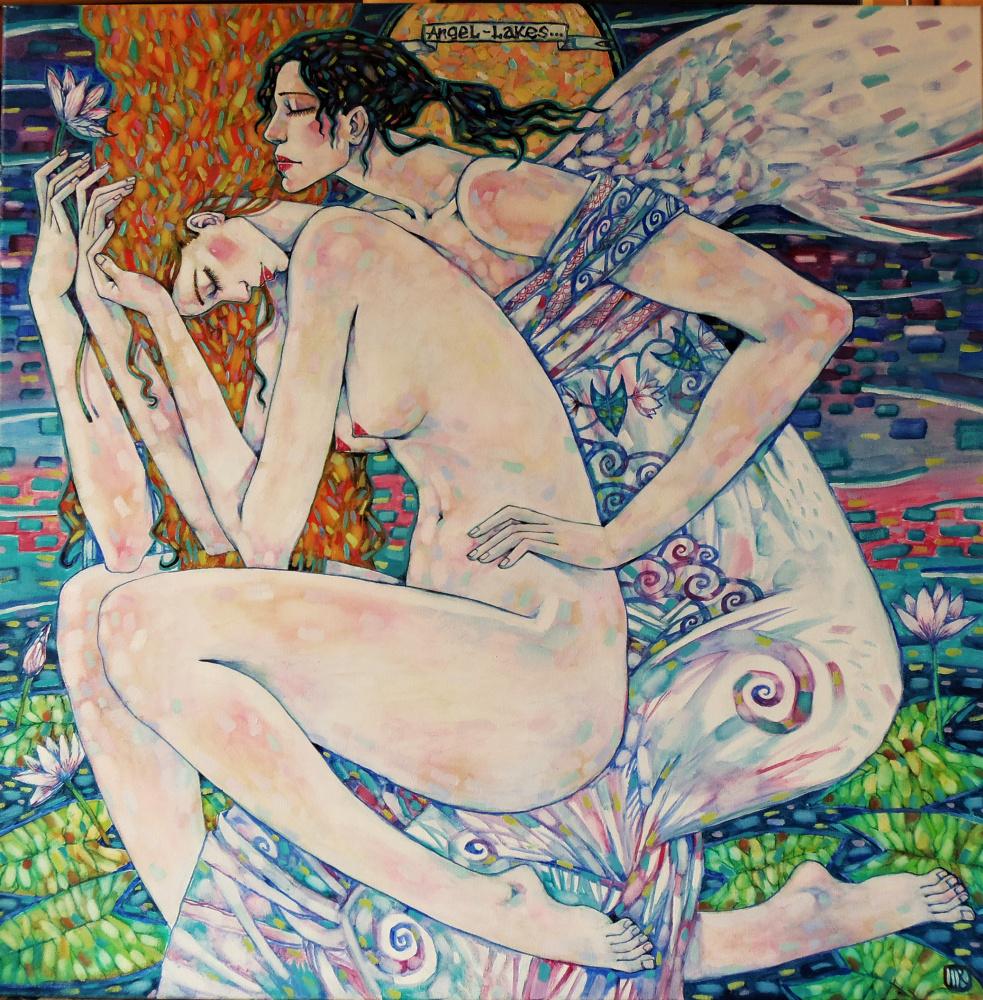 Marina rozuvanova. Angel of the Lake