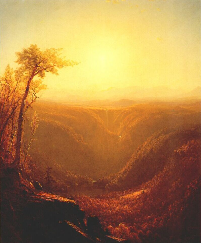 Gifford. Gorge in the mountains