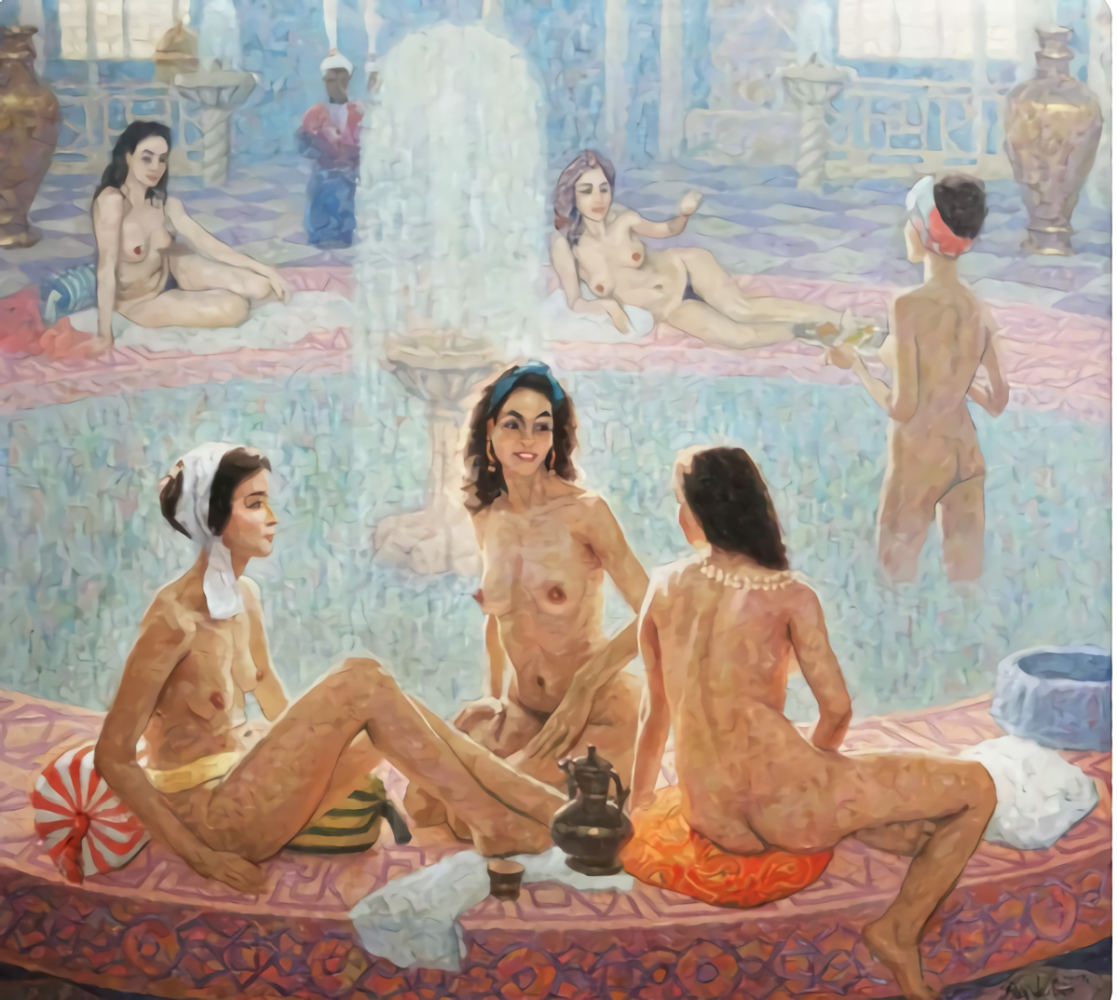 Разживин. Турецкие бани