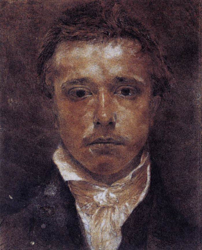 Samuel Palmer. Portrait of a gentleman