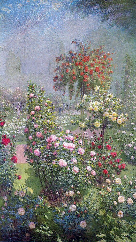 Эрнест Кууост. Нежные розы
