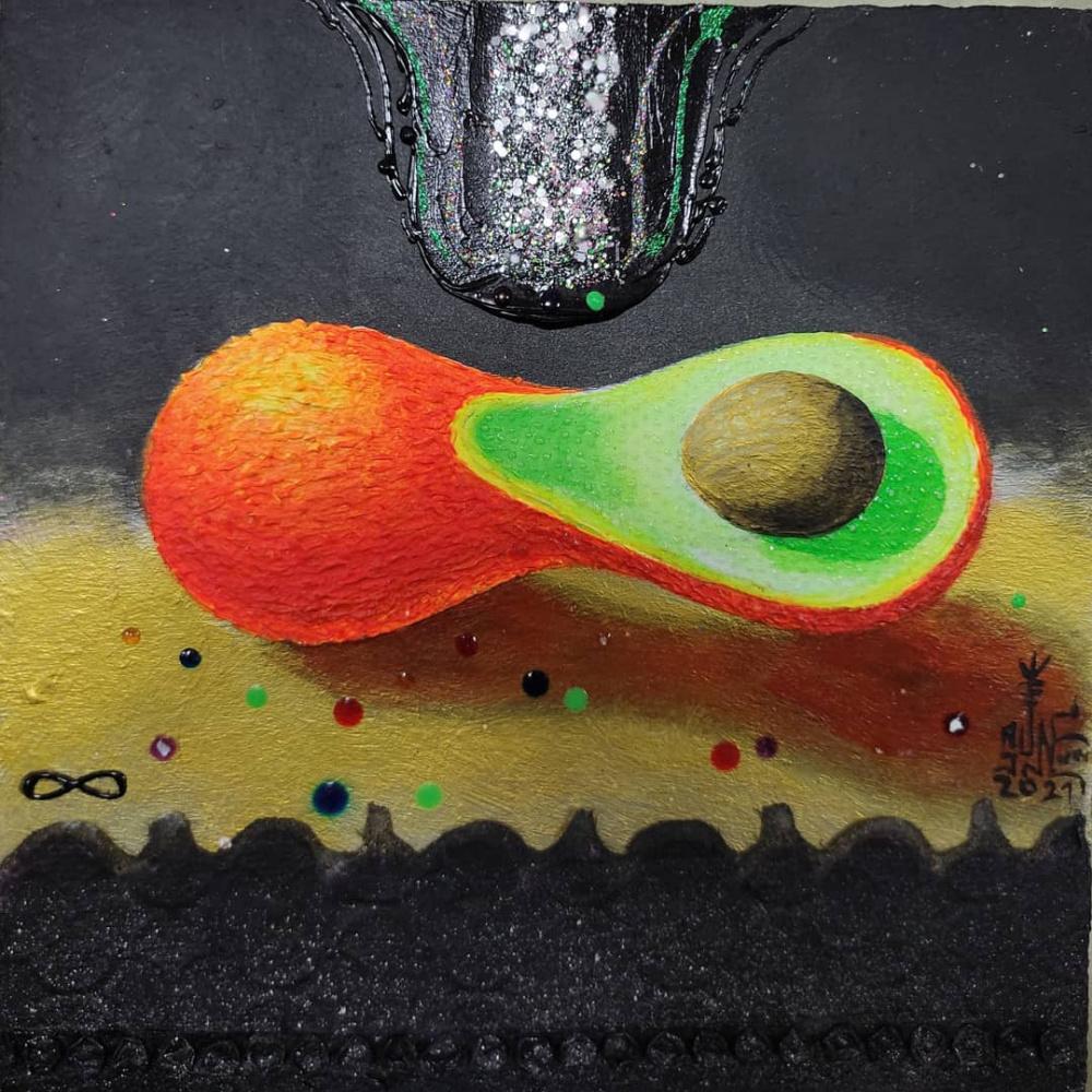 Serge Sunnah. Бесконечность красного авокадо