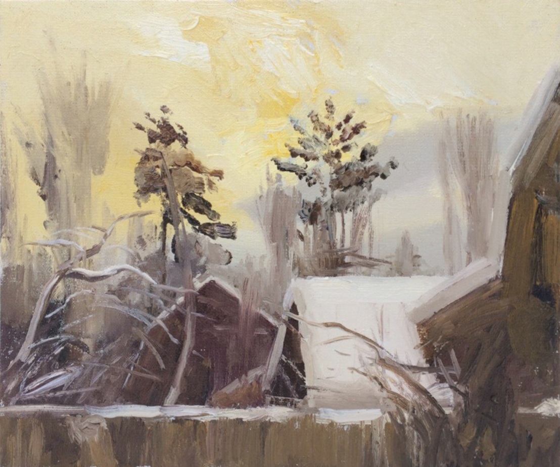 Igor Vladimirovich Mashin. Winter morning